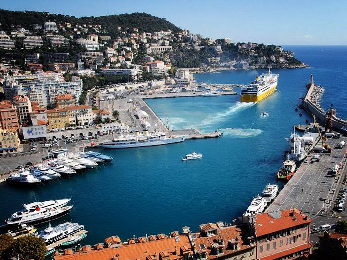 Brad and Martha Boyer - Oceania Cruises Sirena sailing on